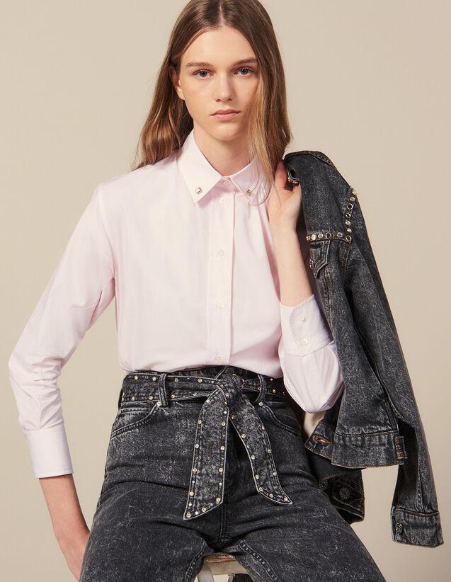 Camicia Con Bottoni Gioiello Sul Collo : FBlackFriday-FR-FSelection-50 colore Rosa