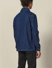 Giacca Da Lavoro In Denim : L'intera collezione Invernale colore Blue Vintage - Denim