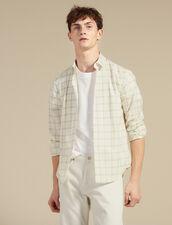 Camicia In Cotone Sottile : Copy of Tutta la Selezione colore Ecru