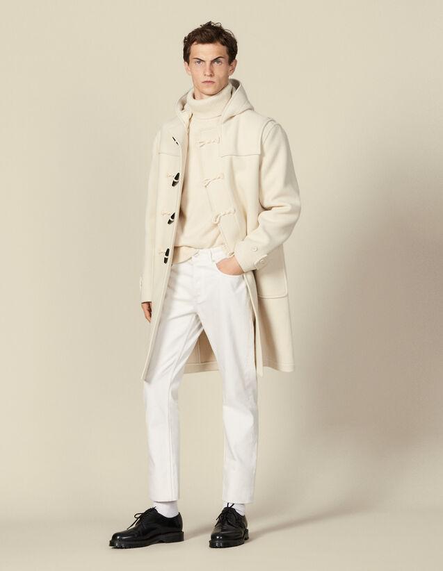 Montgomery in lana : Trench & Cappotti colore Ecru