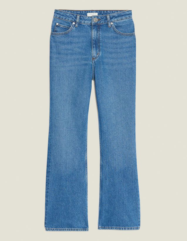 Pantaloni Rudolphe : Jeans colore Blue Vintage - Denim
