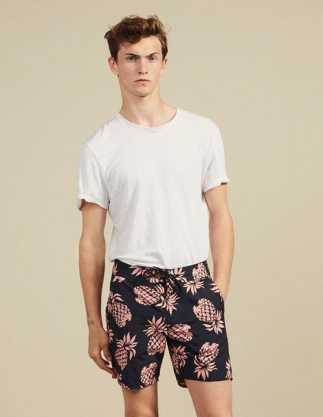 Pantaloncini Da Mare Stampati : Costumi da Bagno colore Nero