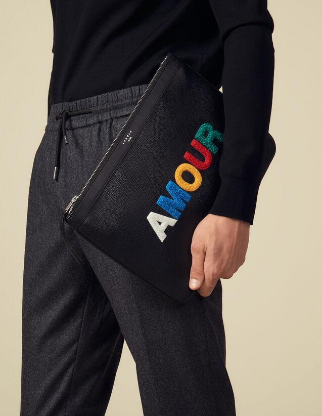 Pochette Amour : Toute la Maroquinerie couleur Noir