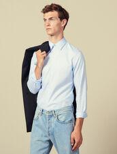 Camicia formale in oxford : Camicie colore Sky Blue