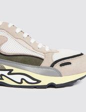 Baskets Flame : Toutes les Chaussures couleur Marine Foncé