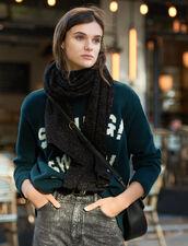 Sciarpa in lurex : L'intera collezione Invernale colore Nero