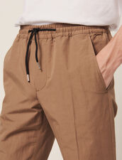 Pantalon De Ville En Coton Lin : Sélection Last Chance couleur Marine