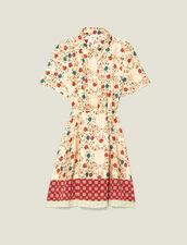Abito A Camicia Stampato Aperto Dietro : LastChance-CH-FSelection-Pap&Access colore Multicolore