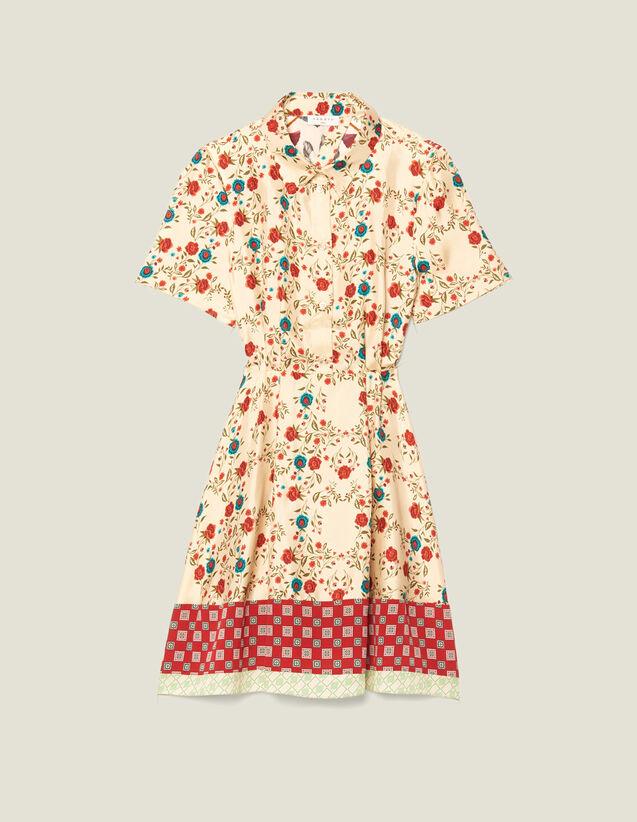 Robe Chemise Imprimée, Ouverture Au Dos : LastChance-FR-FSelection couleur Multicolore