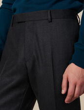 Pantalon de costume en laine : Costumes & Smokings couleur Anthracite