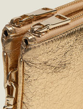 Pochette Addict : Piccola Pelletteria colore Full Gold