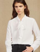 Camicia Con Colletto : null colore Bianco