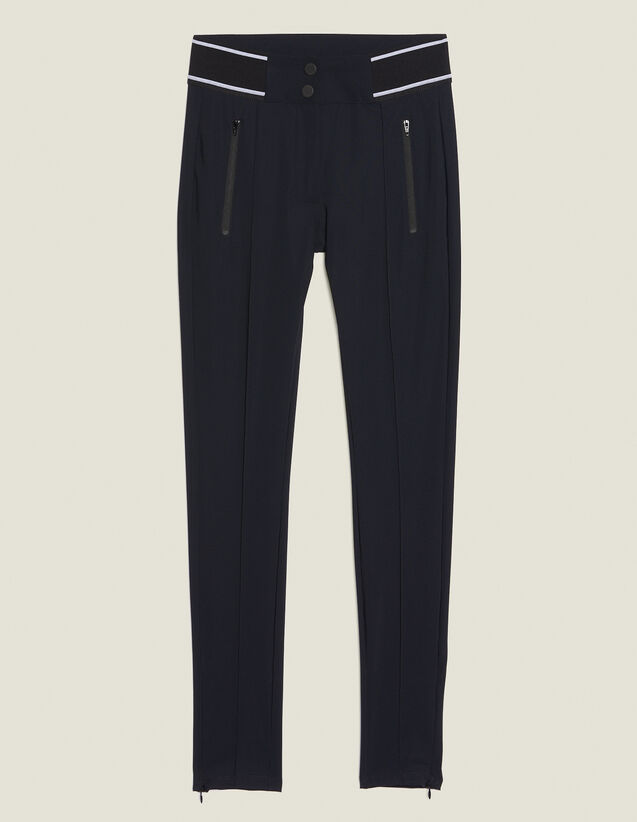 Pantaloni Stile Leggings : LastChance-FR-FSelection colore Nero