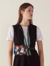 Robe Courte Sans Manches Zippée : LastChance-FR-FSelection couleur Noir