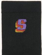 Calzini con logo : Calze colore Nero