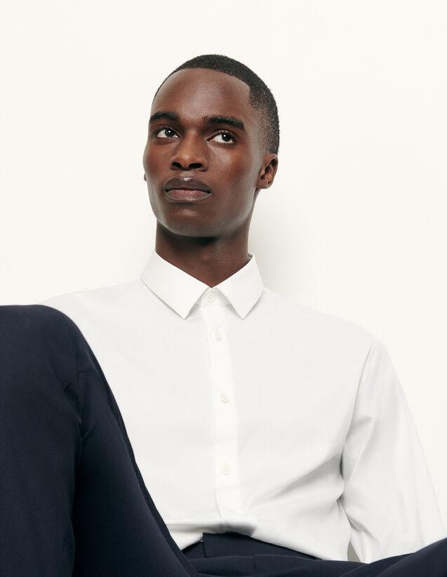 Camicia classica linea slim : Camicie colore Bianco