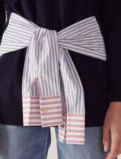 Pullover In Lana E Cashmere : null colore Blu Marino