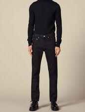 Jeans grezzi slim : -50% colore Black - Denim
