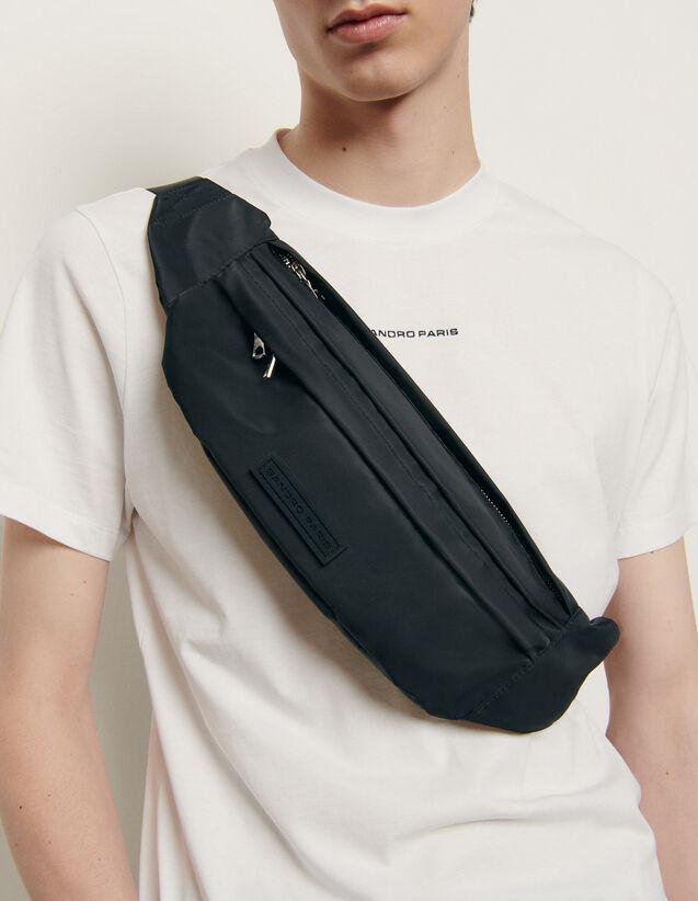 Grand sac banane cross-body : HNouveautes-sacs-acc couleur Noir