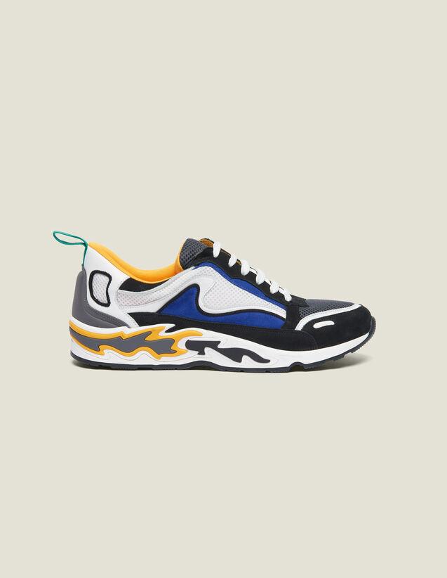 Flame sneaker : Tutte le Scarpe colore Giallo