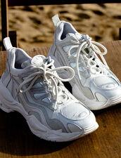 Astro Sneaker Con Suola Grafica : Tutte le Scarpe colore Bianco