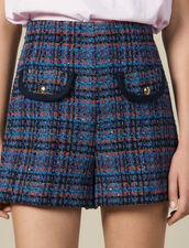 Short In Tweed : Gonne & Short colore Multicolore