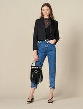 Blazer Corto : FBlackFriday-FR-FSelection-Blousons&Manteaux colore Nero