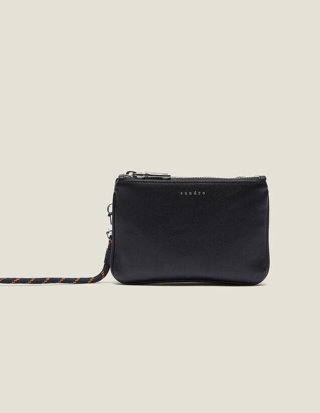 Pochette Mini Addict Con Cinturino : Collezione Estiva colore Nero