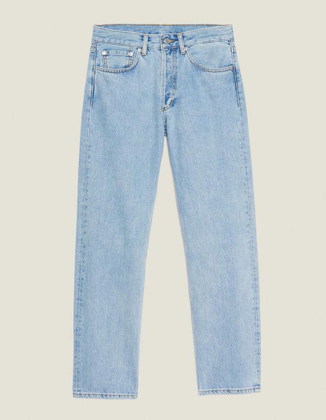 Jeans Dritti Blu Vintage : Jeans colore Blue Vintage - Denim