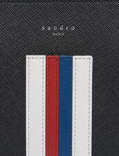Portadocumenti Con Linee Colorate : SOLDES-CH-HSelection-PAP&ACCESS-2DEM colore Nero