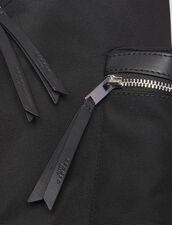 Zaino In Tela Tecnica : Tutta la Pelletteria colore Nero