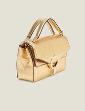 Borsa Yza piccola color oro : Tutte le Borse colore Full Gold