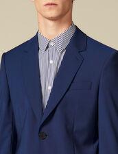 Giacca da completo classica Super 110 : Collezione Invernale colore Blu