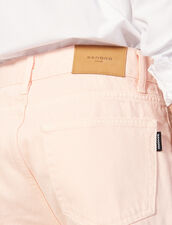 Jeans In Tela Di Cotone - Linea Dritta : LastChance-CH-HSelection-Pap&Access colore Rosa