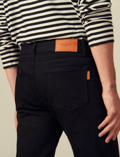 Jean slim : Jeans couleur Black - Denim