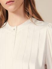Blusa a pieghe piatte : FBlackFriday-FR-FSelection-30 colore Ecru