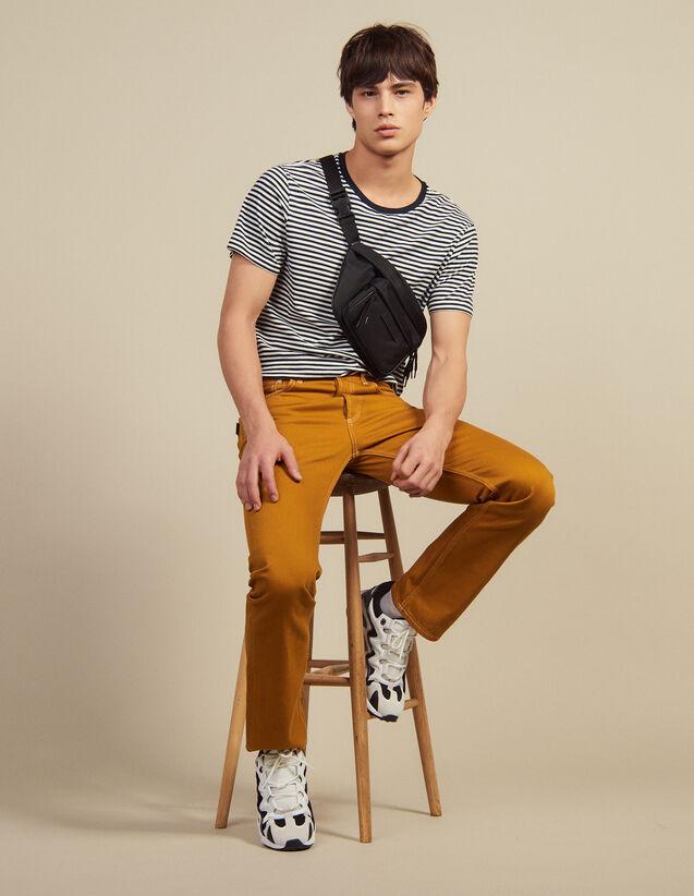 Pantalon En Toile De Coton : LastChance-CH-HSelection-Pap&Access couleur Ocre