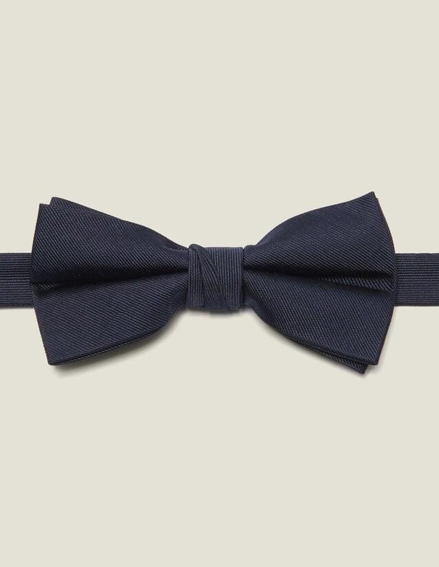 Nœud papillon en twill de soie : Cravates & Noeuds Papillon couleur Marine
