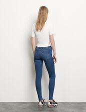 Jeans slim blu : Jeans colore Blue Vintage - Denim