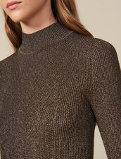Abito lungo in maglia lurex : LastChance-ES-F30 colore Oro