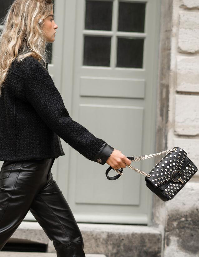 Borsa Yza piccola con borchie : Tutte le Borse colore Nero