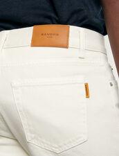 Jeans slim in cotone : Collezione Invernale colore Bianco