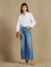 Jean Large : LastChance-FR-FSelection couleur Blue Vintage - Denim