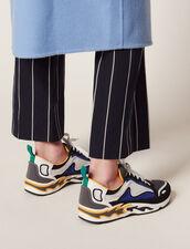 Flame Sneaker : Tutte le Scarpe colore Blu Marino Scuro