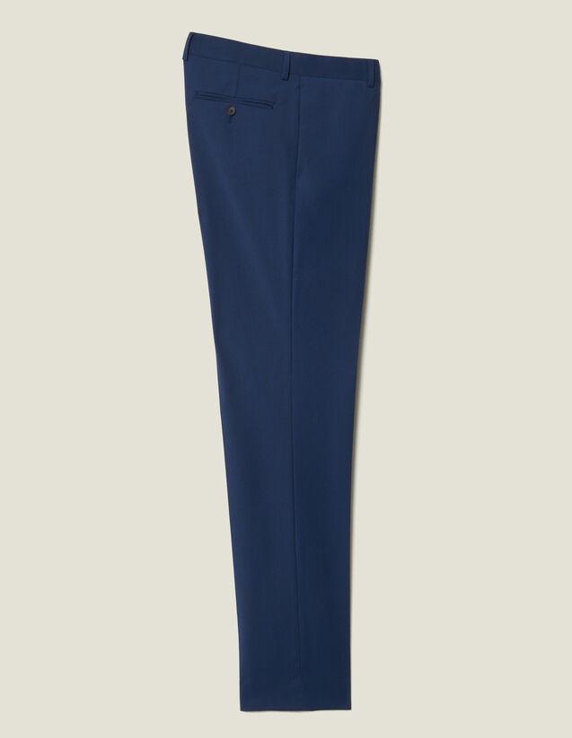 Pantaloni da completo classici Super 110 : L'intera collezione Invernale colore Pétrole
