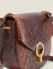 Borsa Pépita : L'intera collezione Invernale colore PYTHON CAMEL