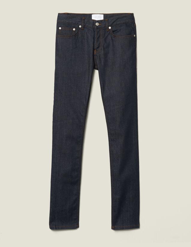 Jean Brut Skinny : Jeans couleur Brut - Denim