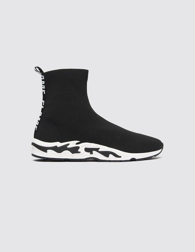 Baskets Chaussettes Flame : Toutes les Chaussures couleur Noir