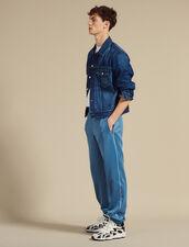 Pantaloni Da Jogging Stile Trackpant : Sélection Last Chance colore Nero