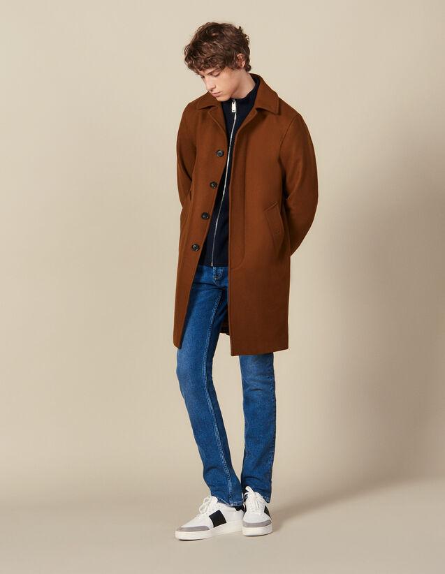 Cappotto Da Città Oversize : Trench & Cappotti colore Cammello